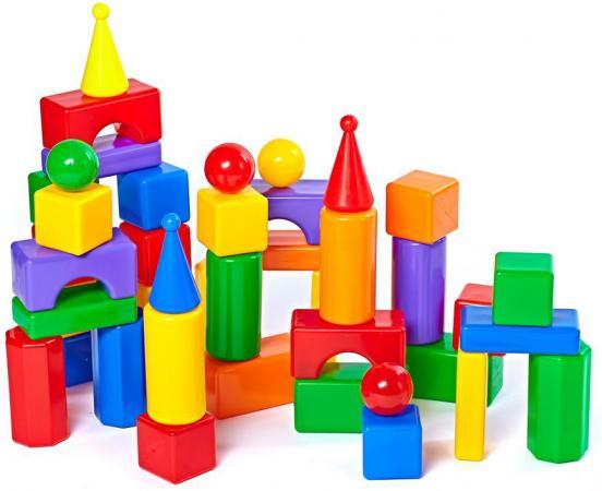 Купить Набор Строим вместе Стена 2 43 шт 5248, Детские кубики