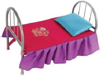 Кроватка для кукол Mary Poppins Цветочек 67126 mary poppins одежда для кукол боди цветочек