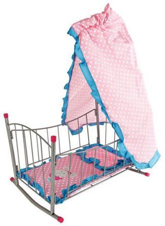 Кроватка-качалка для кукол Mary Poppins Зайка ITEM NO:67314 mary poppins одежда для кукол футболка и шорты зайка