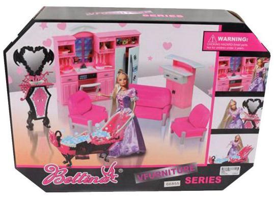 Набор мебели Shantou Gepai Bettina - Мой дом с куклой  66855
