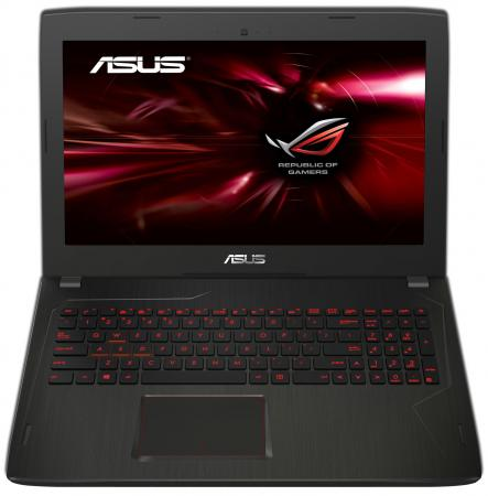 "Ноутбук ASUS FX502VM-DM105T 15.6"" 1920x1080 Intel Core i7-6700HQ 1 Tb 8Gb nVidia GeForce GTX 1060 3072 Мб серый Windows 10 Home 90NB0DR5-M01870"