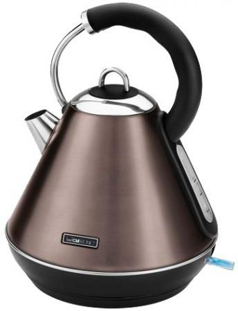Чайник Clatronic Clatronic WKS 3625 2200 Вт шампанское 1.8 л металл чайник clatronic wks 3576 2200 вт чёрный серебристый 1 5 л металл пластик