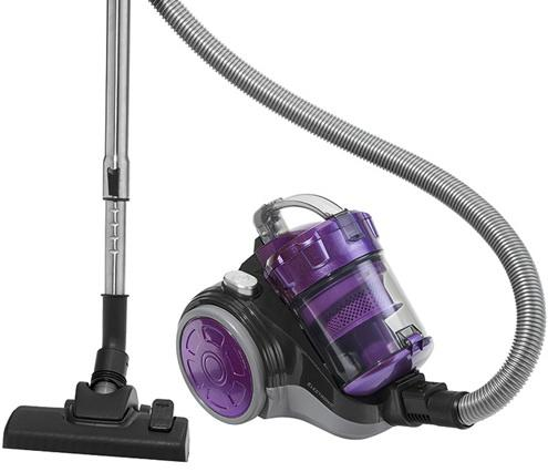 Пылесос Clatronic BS 1302 сухая уборка фиолетовый пылесос clatronic bs 1285 сухая уборка 1600вт серебристо черный