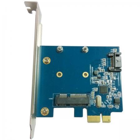 Контроллер PCI-E Orient A1061S-MS SATA 3.0 2int 30288 контроллер pci e orient a1061s sata 3 0 2ext 2int