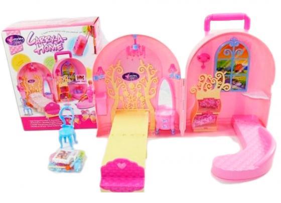Дом для кукол Shantou Gepai Кукольный дом-чемоданчик 830 дом для кукол shantou gepai дом с мебелью 897