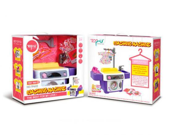 Стиральная машина Shantou Gepai TP602 со звуком набор бытовой техники shantou gepai пылесос и стиральная машина со звуком и светом y3778209