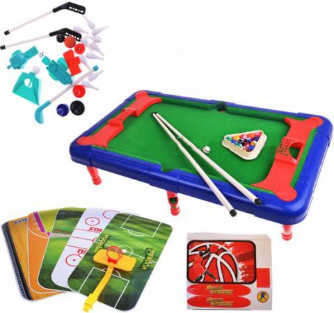 цена Настольная игра спортивная Shantou Gepai Меткий бросок 6 в 1 2266