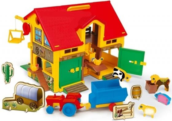 Домик Wader Play House - Ферма Во 25450 wader конструктор аэропорт play city