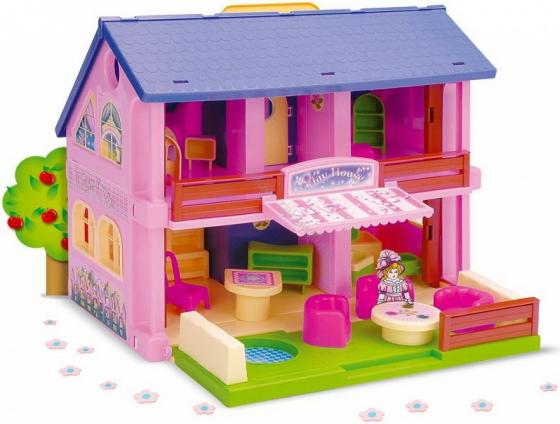 Дом для кукол Wader Play House 25400 wader конструктор аэропорт play city