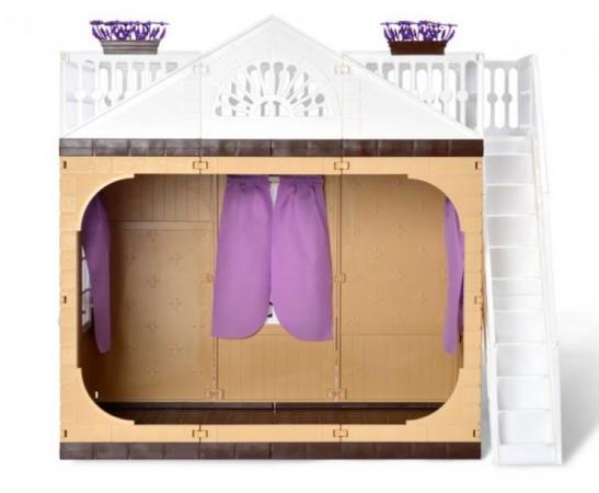 Дом для кукол Огонек Коллекция 1360 4603283013864 дом для кукол огонек коллекция без мебели