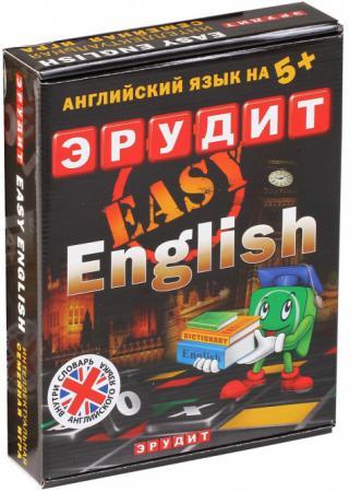 Настольная игра развивающая Биплант Эрудит Easy English подарочный 10007