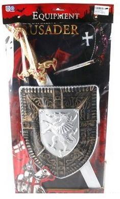 Игровой набор Shantou Gepai Оружие рыцаря 3 предмета 8626 оружие shantou gepai overlord золотистый 36b 1