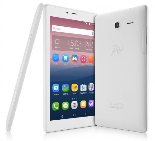 "все цены на Планшет Alcatel Pixi 4 7.0 7"" 8Gb белый Wi-Fi Bluetooth Android 8063-3BALRU1 онлайн"