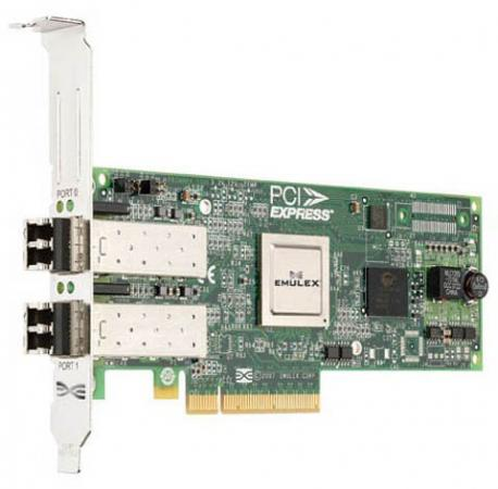Адаптер Dell Emulex LPe12002 8Gb PCIe Low Profil Kit 406-10469 адаптер dell qlogic 2562 dual port 8gb fibre channel hba pci e x8 full profile kit 406 bbek