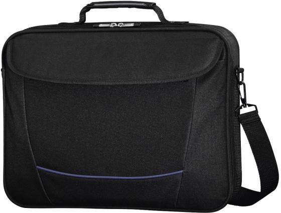 Сумка для ноутбука 17.3 HAMA Seattle Life H-101293 полиэстер черный сумка для ноутбука 17 3 hama seattle life h 101293 полиэстер черный