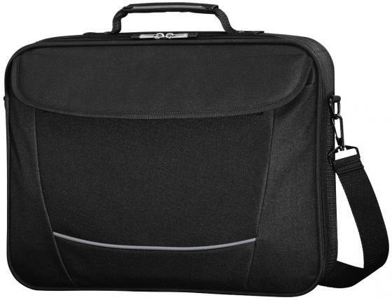 Сумка для ноутбука 15.6 HAMA Seattle Life полиэстер черный серый 00101292 сумка для ноутбука 17 3 hama sportsline bordeaux черно серый полиэстер 101094