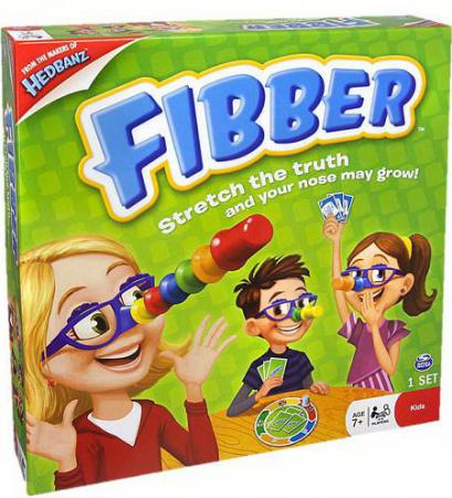 Настольная игра развивающая Spin Master FIBBER 34545 настольная игра spin master логическая fibber
