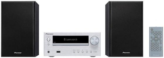 Микросистема Pioneer X-HM26-S 30Вт серебристый аудио микросистема pioneer x cm56 gr зеленый x cm56 gr