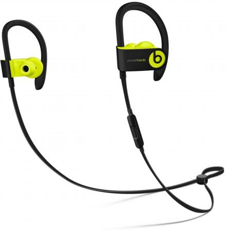 Наушники Apple Beats Powerbeats 3 WL желтый MNN02ZE/A bluetooth гарнитура beats powerbeats 3 wl белый ml8w2ze a