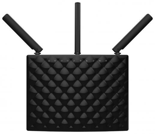 Беспроводной маршрутизатор Tenda AC15 802.11aс 1900Mbps 5 ГГц 2.4 ГГц 3xLAN USB черный elodie details нагрудник трикотажный graphic grace elodie details