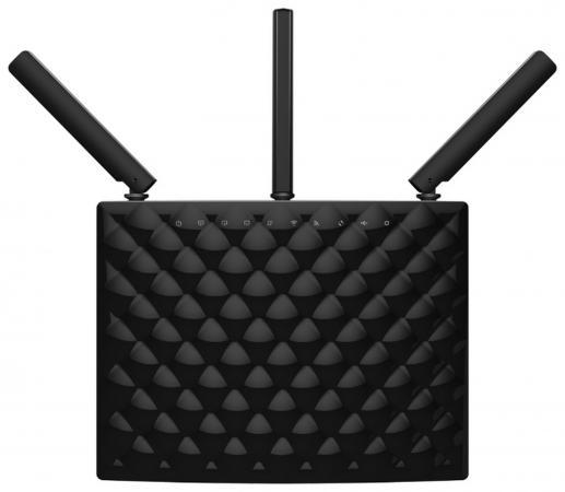Беспроводной маршрутизатор Tenda AC15 802.11aс 1900Mbps 5 ГГц 2.4 ГГц 3xLAN USB черный цена