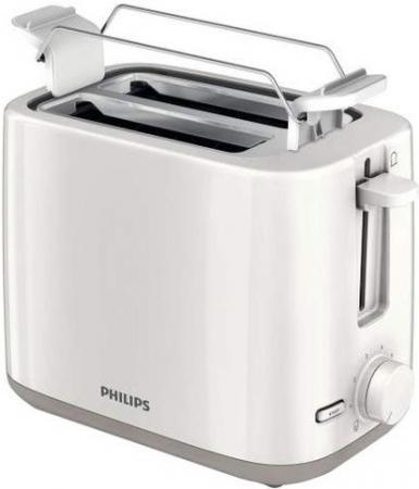 Тостер Philips HD2596/00 белый тостер philips hd 2595 00 белый 2595 00