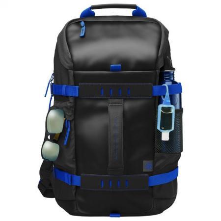 Рюкзак для ноутбука 15.6 HP Y5Y50AA Odyssey полиэстер черный синий аккумулятор для ноутбука hp compaq hstnn lb12 hstnn ib12 hstnn c02c hstnn ub12 hstnn ib27 nc4200 nc4400 tc4200 6cell tc4400 hstnn ib12