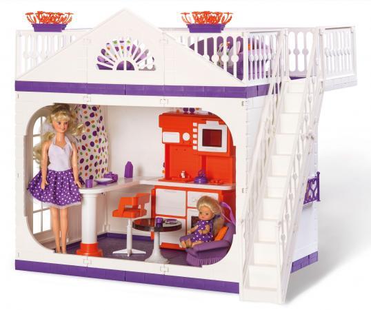 Дом для кукол Огонек Конфетти С-1361 аксессуары для кукол огонек дачный дом конфетти