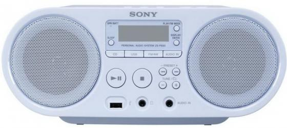 цена на Магнитола Sony ZS-PS50L синий
