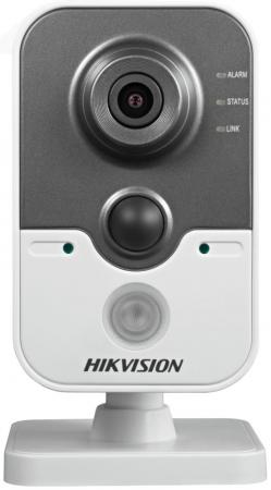 Камера IP Hikvision DS-2CD2442FWD-IW CMOS 1/2.8 2688 x 1520 H.264 MJPEG RJ-45 LAN Wi-Fi PoE белый черный [ in stock ] hikvision overseas wireless ip camera indoor outdoor ds 2cd2442fwd iw 4mp wifi camera built in microphone