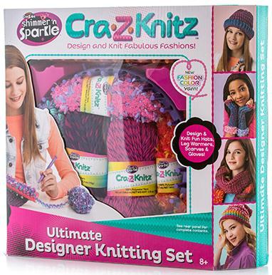 Набор для вязания Cra-Z-Art Вязальная станция (средняя) 17568A cra z knitz cra z knitz вязальная станция средняя