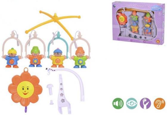 Подвеска-карусель Shantou Gepai Облако заботы Ребята заводная, музыкальная 6387D подвеска декоративная карусель зелёный дерево