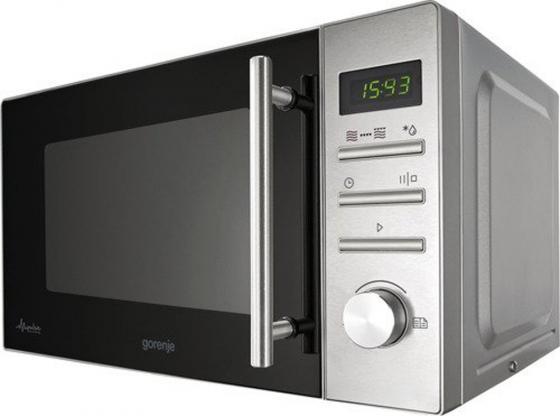 Микроволновая печь Gorenje MMO20DGEII 800 Вт серебристый микроволновая печь gorenje mmo20dgeii mmo20dgeii