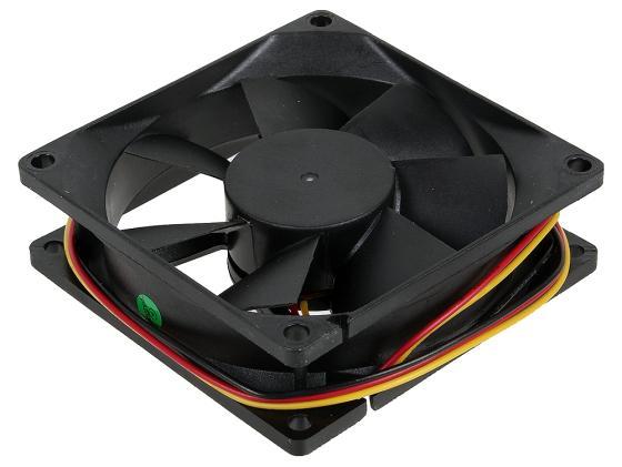 Вентилятор Titan TFD-8025M12Z 80mm 2500rpm система охлаждения корпуса пк titan tfd 5010m12z tfd 5010m12z