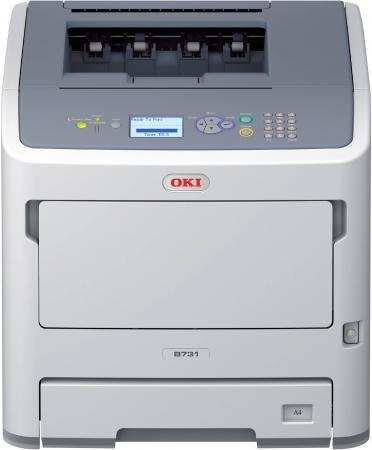 Принтер OKI B731dnw монохромный ч/б A4 52ppm 1200x1200dpi 256Мб Ethernet Wi-Fi USB 45487102