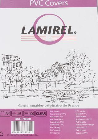 Фото - Обложка Fellowes Lamirel A4 прозрачный 100шт LA-7868001 набор lamirel очищающий