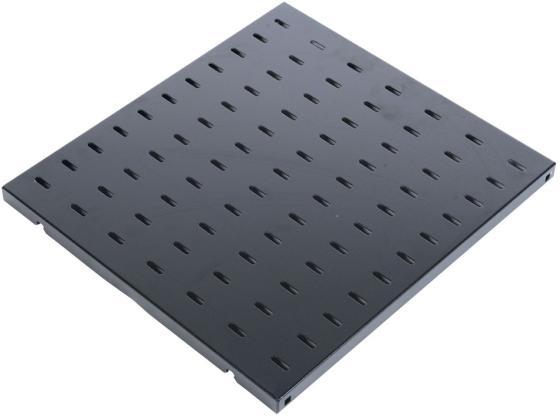 лучшая цена Полка перфорированная ЦМО глубина 390 мм черный СВ-39-9005