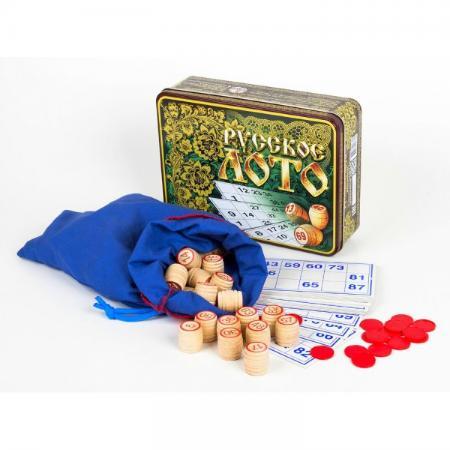 Настольная игра лото Десятое королевство 1776 настольная игра лото десятое королевство русские узоры жестяная коробка
