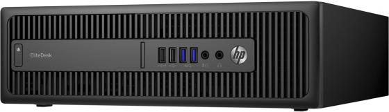 Системный блок HP EliteDesk 800G2 i5-6500 3.2GHz 4Gb 128Gb SSD HD530 DVD-RW Win10Pro клавиатура мышь черный X3J29EA блокада 2 dvd