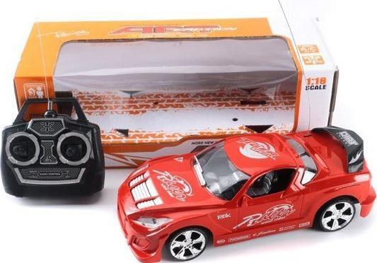 Машинка на радиоуправлении Shantou Gepai 4 канала красный от 3 лет пластик 688-46 машинка на радиоуправлении shantou gepai auto world от 3 лет зелёный пластик 4 канала свет 1 12