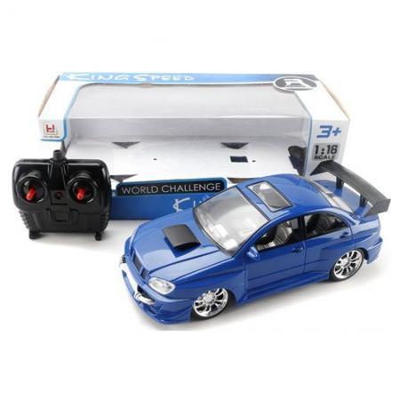 Машинка на радиоуправлении Shantou Gepai King Speed синий от 3 лет пластик 6927713124691 футболка мужская mustang basic tee цвет черный 6138 1603 440 4142 размер m 48