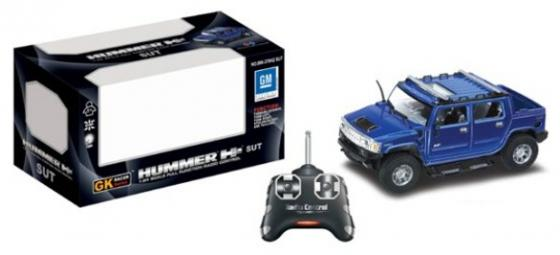 Машинка на радиоуправлении Shantou Gepai Hummer синий от 8 лет пластик 866-378H2SUT машинка на радиоуправлении shantou gepai 1 24 porsche 918 spyder 4 канала серебристый от 8 лет пластик 866 2414