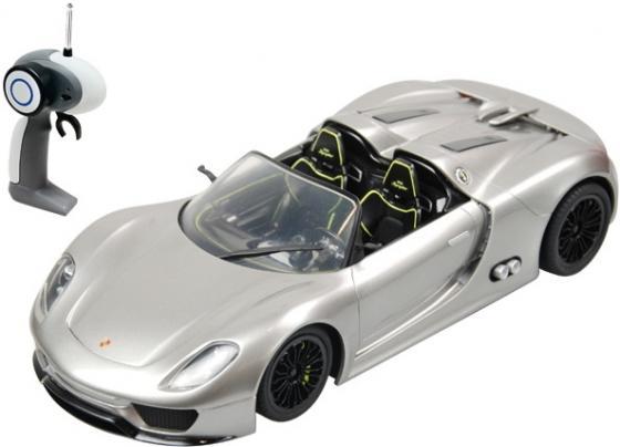 Машинка на радиоуправлении Shantou Gepai 1:24, Porsche 918 Spyder, 4 канала серебристый от 8 лет пластик 866-2414 машинка на радиоуправлении shantou gepai 1 24 porsche 918 spyder 4 канала серебристый от 8 лет пластик 866 2414