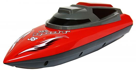 Катер на радиоуправлении Shantou Gepai Heat красный от 6 лет пластик 4 канала, 30м, 5км/ч MX-0013-3
