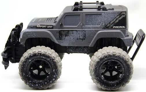 Внедорожник на радиоуправлении Пламенный Мотор Трофи-рейд 87591 серо-черный от 4 лет пластик 87591 стоимость