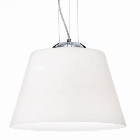 Подвесной светильник Ideal Lux Cylinder SP1 D30 Bianco подвесной светильник ideal lux cylinder sp1 d30 bianco