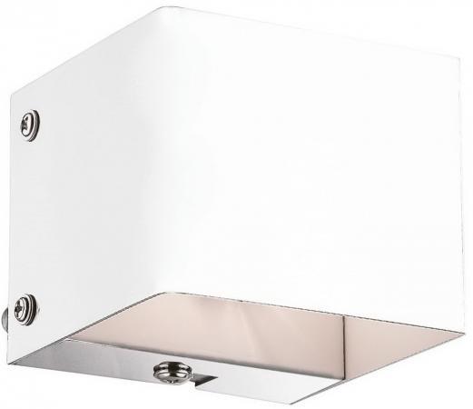 Настенный светильник Ideal Lux Flash AP1 Bianco ideal lux настенный спот ideal lux zenith ap1 bianco