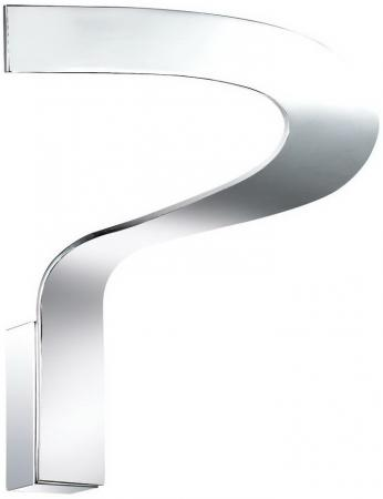 Настенный светодиодный светильник Ideal Lux Why AP1 Cromo ideal lux бра why ap1 cromo