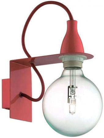 Бра Ideal Lux Minimal AP1 Rosso ideal lux бра ideal lux minimal ap1 rosso