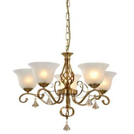 Подвесная люстра Arte Lamp Cono A8391LM-5PB